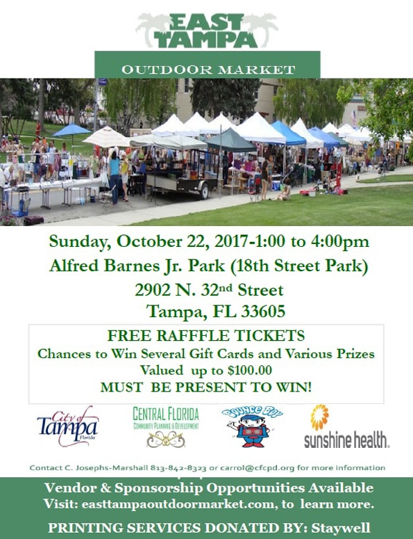 East Tampa Outdoor Market Flyer